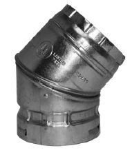 GAS VENT 10R45-S 45* ELBOW 10