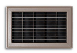 154R 08X12 FLOOR RETURN AIR GRILLE BROWN 154R08X12