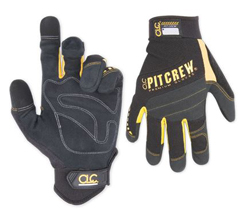 PIT CREW MECHANIC GLOVES LARGE #220BL