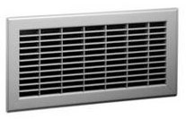325 12X12 BROWN FLOOR RETURN AIR GRILLE 1461212BR (6/CS)