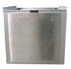 DUCT BOARD R6 INSULATED RETURN AIR STAND 18.5