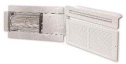 AIRESHARE ROOM-TO-ROOM TRANSFER FAN HARDWIRED 120V 45W 75 CFM W/DIFFUSERS AS-1