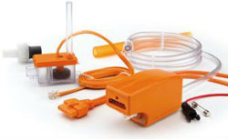 ASPEN MINI ORANGE CONDENSATE PUMP KIT UNIVERSAL VOLTAGE 100-250V 83909 ASP-MO-UNI