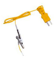 ATA1 K-TYPE THERMOCOUPLE W/ALLIGATOR CLIP