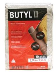 BUTYL II DROP CLOTH 9' X 12' EXTRA-HEAVY LEAKPROOF CANVAS #D SB BUTY II