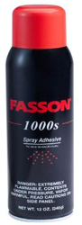 1000S FASSON SPRAY ADHESIVE 12 CN/CS (12 OZ CAN)