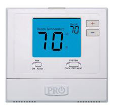 T755 5/1/1 PROGRAMMABLE 3H/2C HP; 2H/2C CONV. THERMOSTAT DIGITAL 4 SQ. IN. DISPLAY