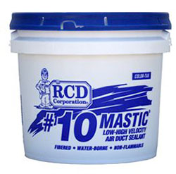 #10 MASTIC 2 GALLON DUCT SEALANT FIBER REINFORCED LEED Compliant