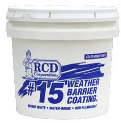 #15 WEATHER BARRIER COATING 1 GALLON