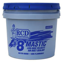#8 MASTIC 2 GALLON DUCT SEALANT LEED Compliant