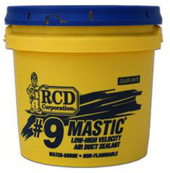 #9 MASTIC 2 GALLON DUCT SEALANT LEED Compliant (80/PALLET)