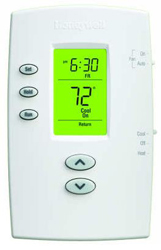 TH2110DV1008/U PRO VERTICAL PROGRAMMABLE THERMOSTAT 1H/1C